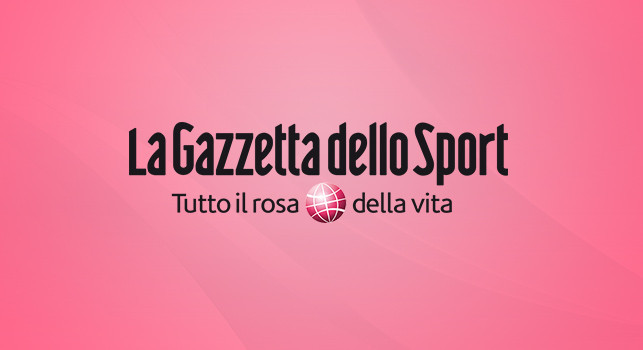 Gazzetta dello Sport Prima pagina 12 agosto 2020