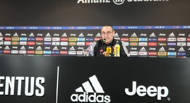 Juventus, Sarri: In questo momento non possiamo esprimere di più. Siamo delusi e arrabbiati, alla squadra ho detto...