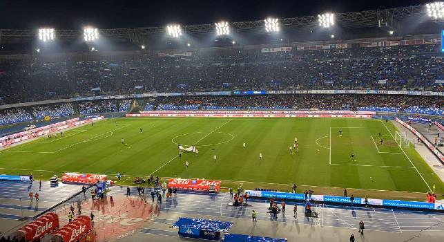 Il Roma - ll Napoli chiama, il San Paolo risponde. C'è il pienone col Lecce
