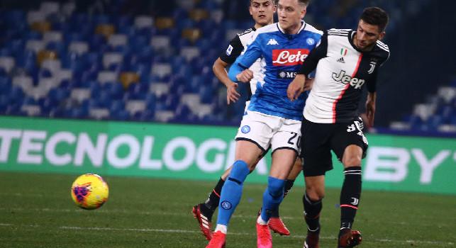 Napoli Juventus sintesi