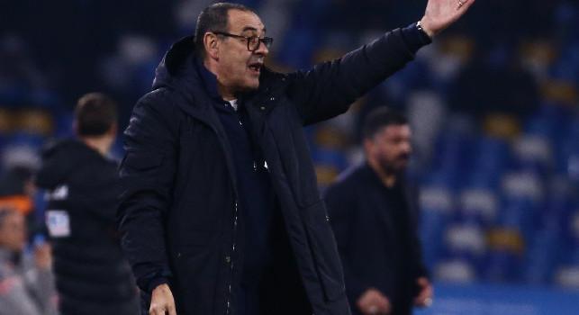 Juventus, Sarri: Abbiamo preso cinque pali nelle ultime partite, ci farebbe bene un po' di fortuna