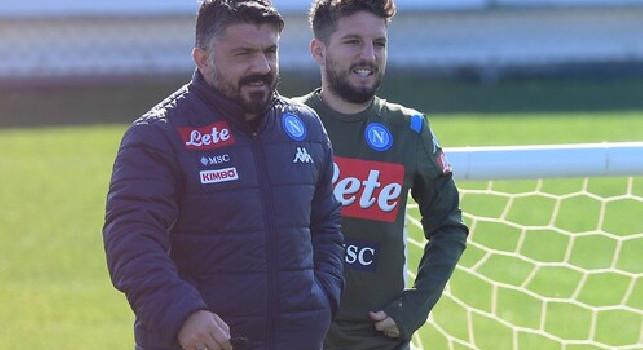 Europa League, Napoli-AZ: oggi alle 14 in conferenza stampa Gattuso e Mertens, seguila su CalcioNapoli24