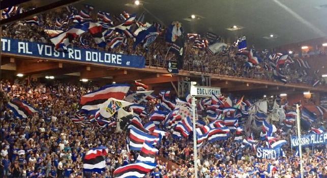Lavali col fuoco: cori beceri a Marassi! I tifosi della Sampdoria protagonisti di un gesto vergognoso
