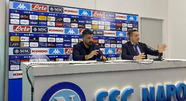 Gattuso ai broadcaster: A Bergamo ci siamo persi in chiacchiere, mi interessa la mentalità di stasera. Barcellona? Manca più di un mese...