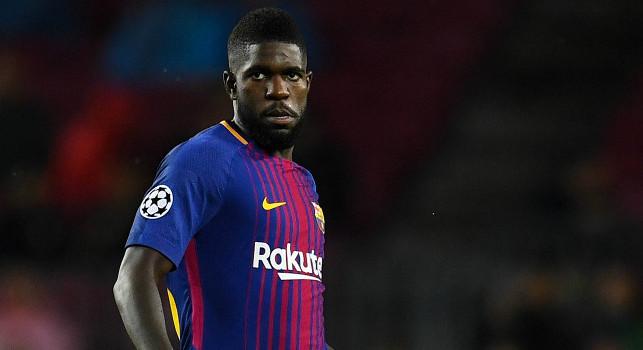 <i>Sport</i> - Il Barcellona mette Umtiti sul mercato: quattro italiane sul difensore, c'è anche il Napoli