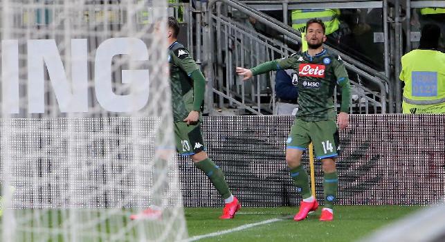 Il Roma - Mertens, 120 gol e la voglia di restare