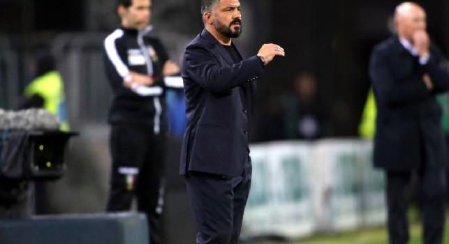 Teotino: Gattuso ha capito che il problema del Napoli è nel comportamento di alcuni giocatori, azzurri favoriti per il 6° posto