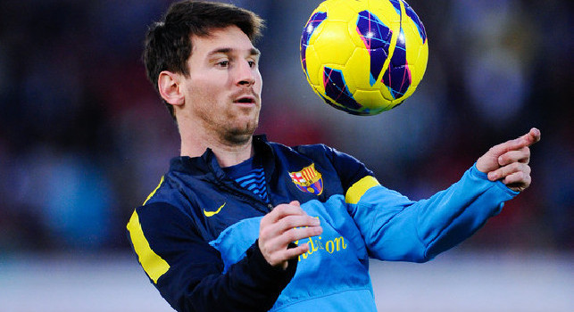 Verso Napoli-Barcellona, Messi show in allenamento: che giocata! [VIDEO]