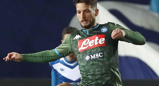 TuttoSport - Mertens resta al Napoli e spinge Cavani all'Inter: la situazione