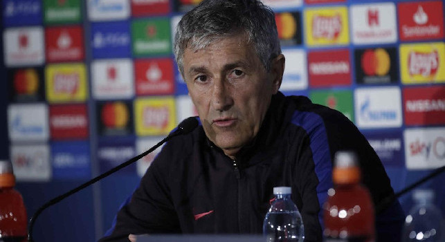 Barcellona-Napoli, Setien in conferenza stampa. Seguila su CalcioNapoli24.it