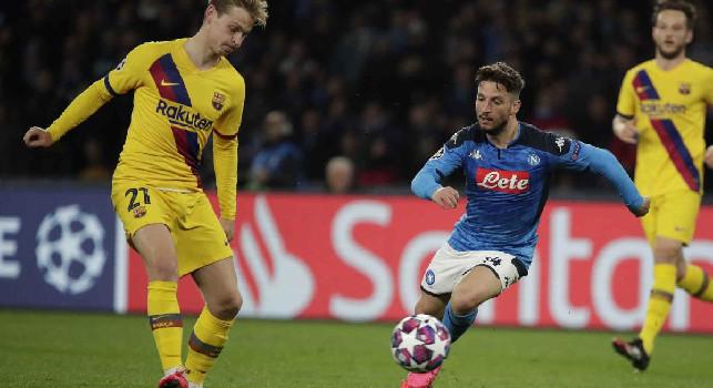 Napoli-Barcellona, le pagelle di Sportmediaset: Insigne capitano vero, bocciato Messi