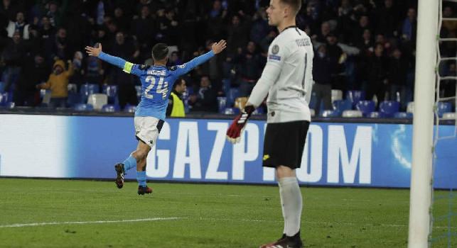 Napoli-Barcellona, spettatori e l'incasso: non è arrivato il record