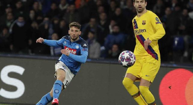 Rinnovo Mertens, Repubblica: ADL offre 4.5 milioni fino al 2022, l'attaccante belga vuole un bonus di 5 mln