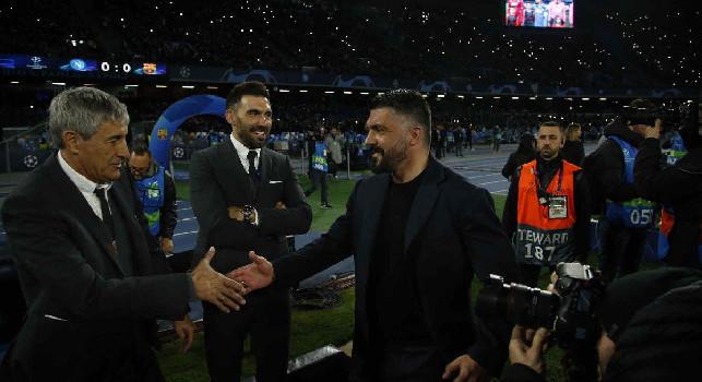 Curiosità e incroci di Barcellona-Napoli: sei precedenti per Gattuso da giocatore, tanti azzurri hanno giocato in Spagna