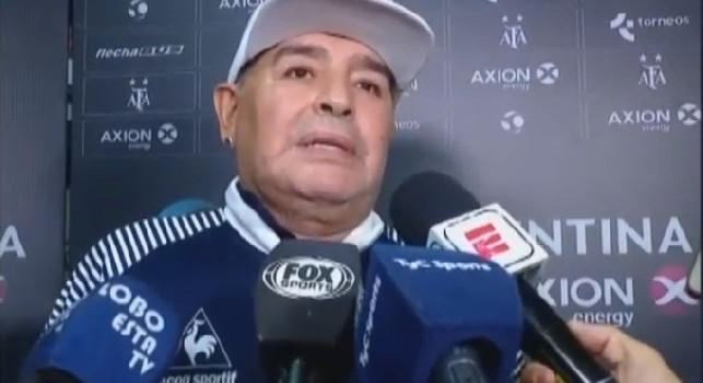 Maradona: Aiutate la gente a mangiare. So cosa vuol dire, il mio non è uno show