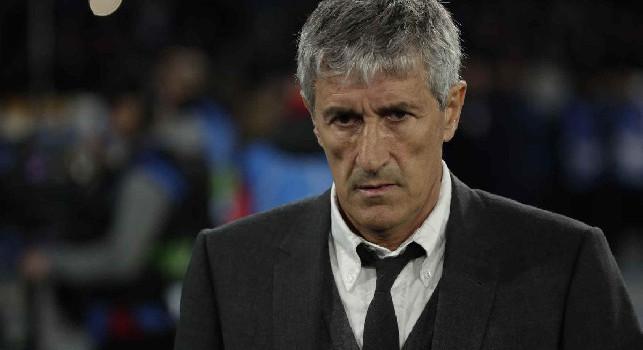 Barcellona, Setien: Vittoria meritata, ma sono un ammiratore di Gattuso. Napoli tra le migliori in Italia, non è facile rubargli palla