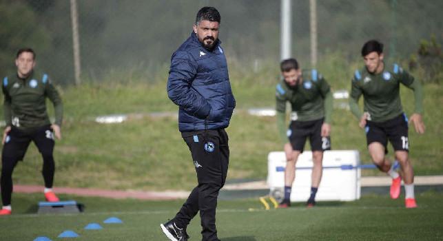 Allenamenti SSC Napoli, Gennaro Gattuso