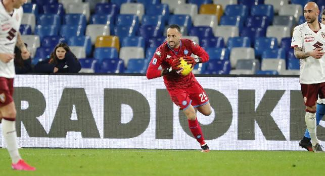 David Ospina, portiere colombiano del Napoli