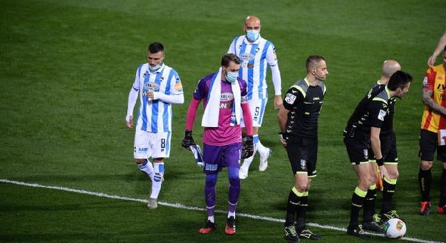 Pescara, focolaio di Covid-19 nel gruppo squadra: sei elementi positivi!