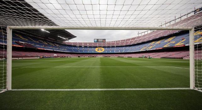 Coronavirus Spagna, Barca-Napoli si giocherà al Camp Nou! Il Mattino: stadio ancora più blindato, nessun assembramento all'esterno