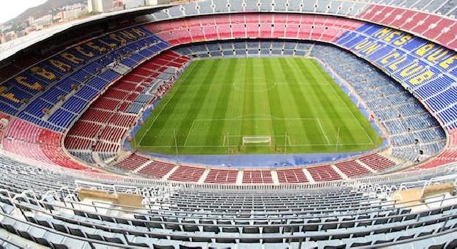 Liga, Camp Nou di Barcellona