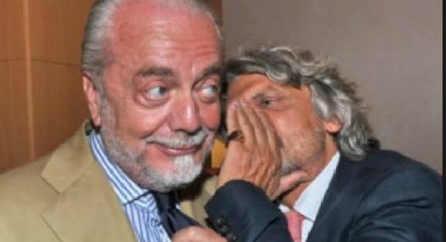 Pagali tutti e senza tagliare gli stipendi: botta e risposta tra Ferrero e De Laurentiis in assemblea di Lega, screzi con un altro presidente di A