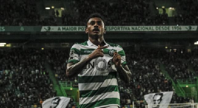 Al Napoli piace Wendel, la valutazione dello Sporting Lisbona