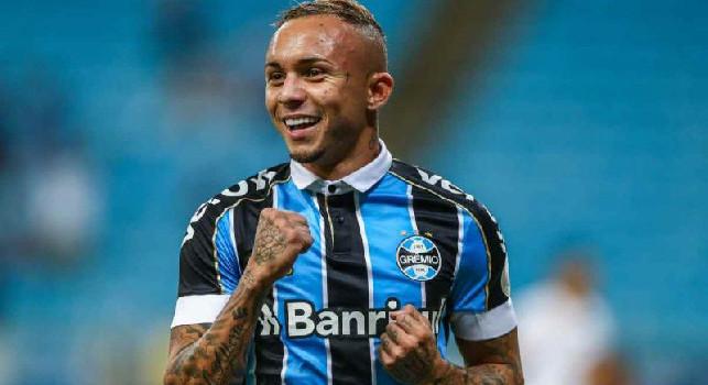 CorSport su Everton: il Gremio s'è quasi messo il cuore in pace, il brasiliano ha avuto modo di avvertire la stima del Napoli