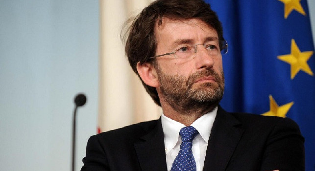 Il Ministro Franceschini: Riapertura degli stadi di calcio? Allora anche per concerti e spettacoli
