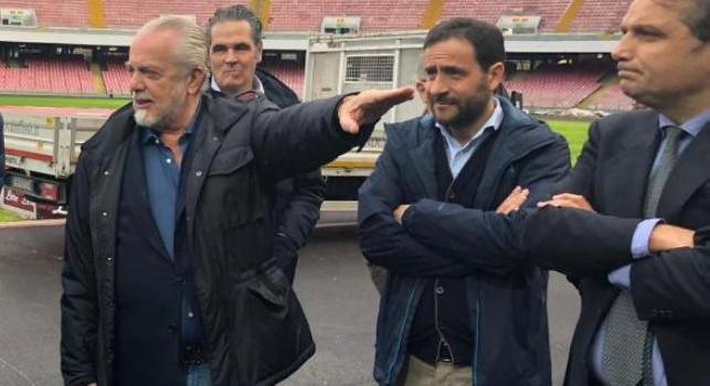 Borriello: San Paolo, nuovi lavori a breve. Riapertura stadi? Spadafora mi ha detto che...