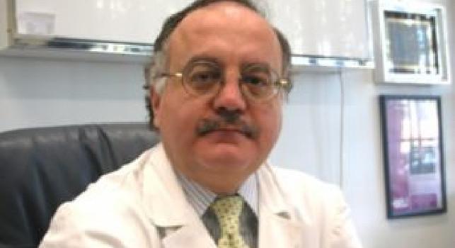 Dott. Mirone assicura: De Laurentiis e famiglia stanno bene. Osimhen nello spogliatoio...