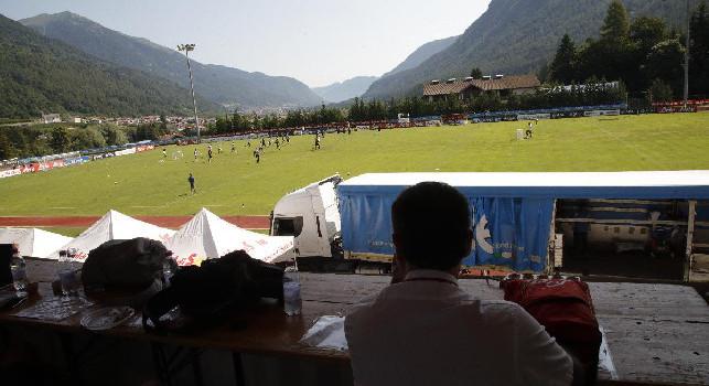 Dimaro, il sindaco annuncia: Tutti gli allenamenti del Napoli saranno open ai tifosi