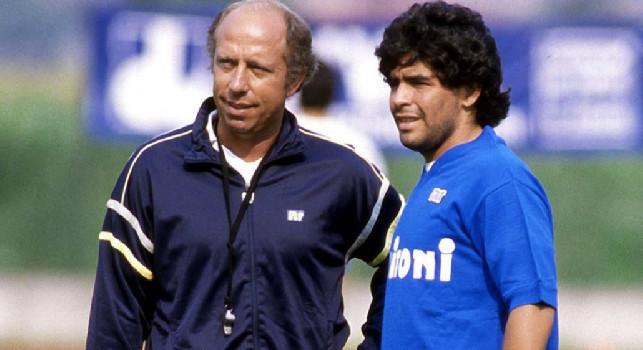 Bianchi ricorda: La gente di Napoli è un bagaglio d'esperienza, che notte in auto in città il 10 maggio '87! Maradona provava la mano de Dios in allenamento!