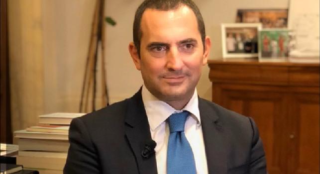Spadafora (Ministro dello Sport): Complimenti alla Juventus, con l'auspicio che il prossimo trofeo possa essere assegnato con il pubblico sugli spalti