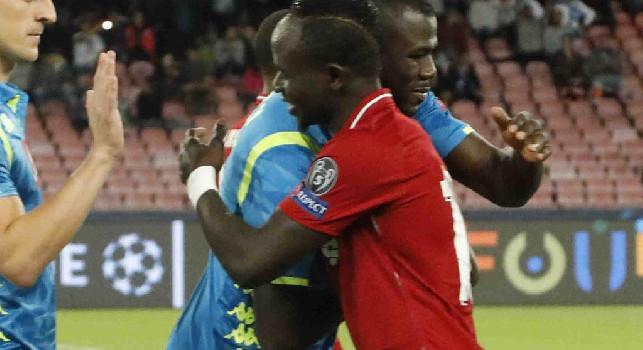 <i>Daily Express</i> - Klopp chiama in causa Manè per convincere Koulibaly ad andare al Liverpool
