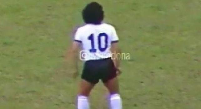 Maradona: 35 anni da quella gara contro il Venezuela: non fate paragoni, era un altro calcio... [FOTO]