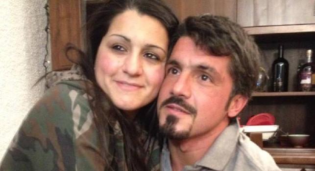 Gennaro Gattuso e sua sorella Francesca Gattuso