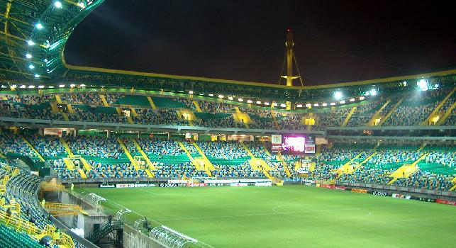A Bola - Sporting-Napoli a rischio: tre calciatori portoghesi positivi, asintomatici e già in isolamento