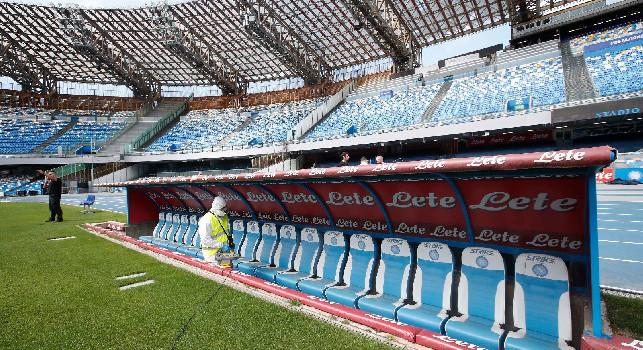 Stop alle Regioni: Gli stadi non si possono riaprire: non ci sono ancora le condizioni