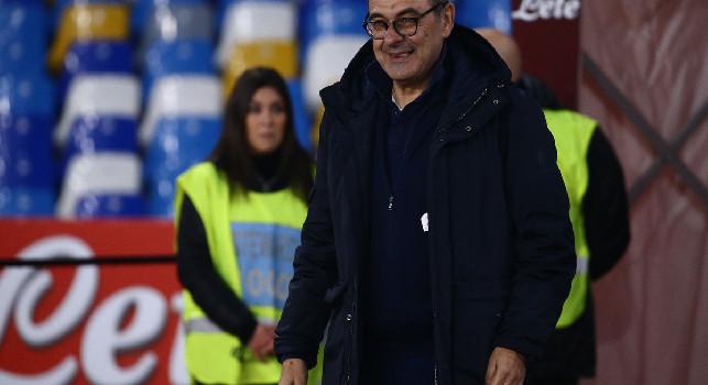 Esonero Sarri, Il Mattino: alcuni calciatori del Napoli gli hanno mandato un SMS, nessuna risposta dal toscano