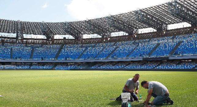 Serie A, l'agronomo Castelli: San Paolo campo a 5 stelle, niente criticità in caso di precipitazioni
