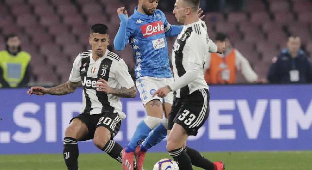 Tuttosport - La Juventus non è sicura di scambiare Bernardeschi, preferirebbe altri tre calciatori da dare al Napoli