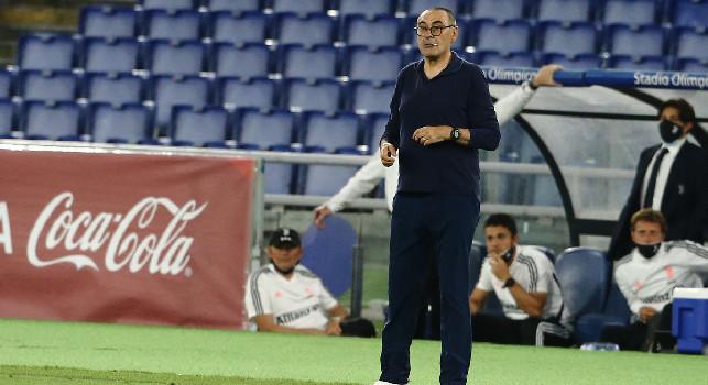 Maurizio Sarri, allenatore della Juventus ed ex Napoli