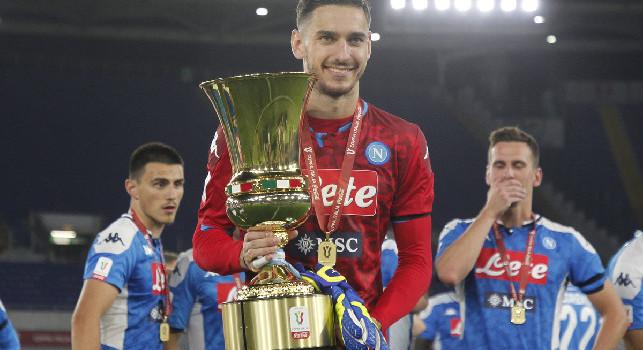Meret racconta i rigori di Napoli-Juventus: Avevo studiato Dybala, ma quando poi vidi Danilo...