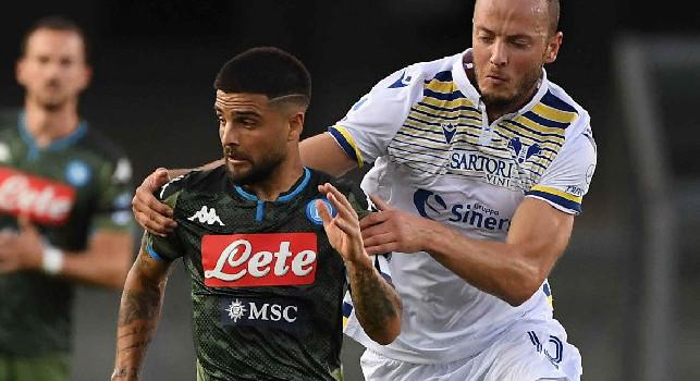 Verona-Napoli, i precedenti sono a favore dei partenopei