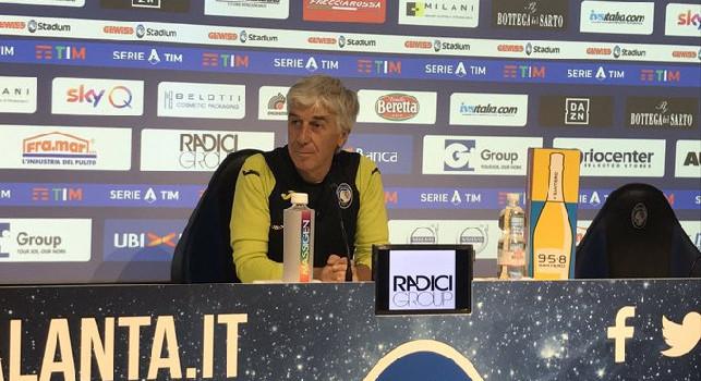 Atalanta, Gasperini: Napoli fuori a testa alta, grandissima prestazione con il Barcellona