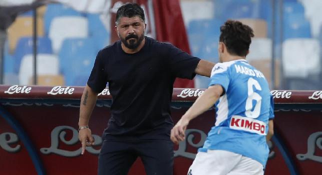 Il Mattino - Atalanta-Napoli, cinque cambi per Gattuso: altra chance per Politano