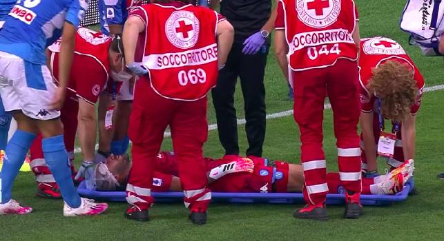 Tuttosport su Ospina: la botta suggerisce precauzione, nello spogliatoio pare che il ragazzo si sia comunque subito ripreso