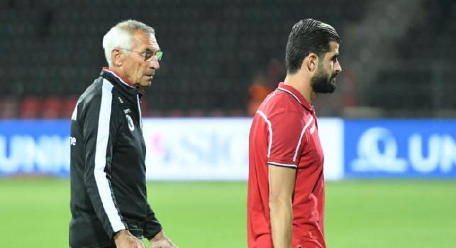Albania, Reja: Vedo Hysaj in fiducia, sta facendo bene con Gattuso! Ieri Napoli eccezionale nel primo tempo, poi...