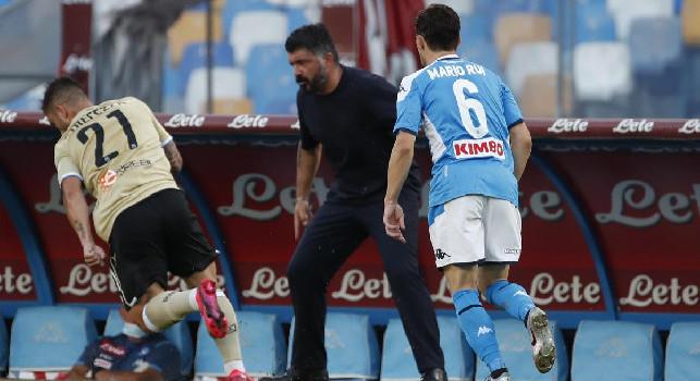 Gennaro Gattuso, allenatore del Napoli
